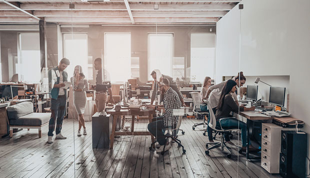 Image to support article: Going back to the office? Here's 5 technologies to help maintain social distancing